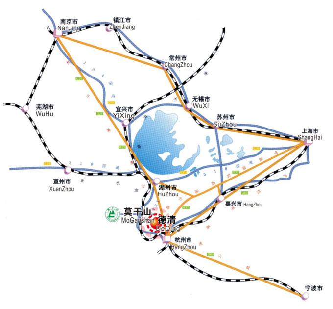 莫干山旅游交通攻略
