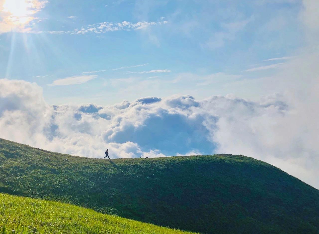 【征途武功山】团队熔炼挑战,徒步华东天堂级户外圣地,行走在云端草甸,穿梭于高山云海!